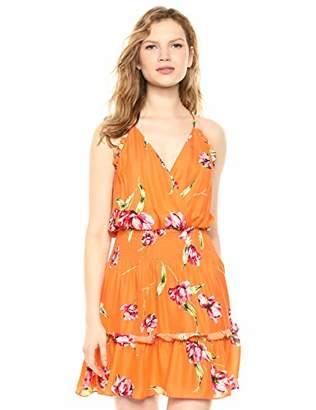 97cd135b16b3 Parker Women's Fabianna Sleeveless Wrap Front Smocked Waist Mini Dress