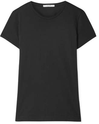 ADAM by Adam Lippes Pima Cotton T-shirt - Black