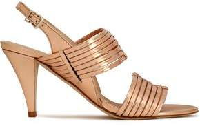Claudie Pierlot Metallic Leather Sandals