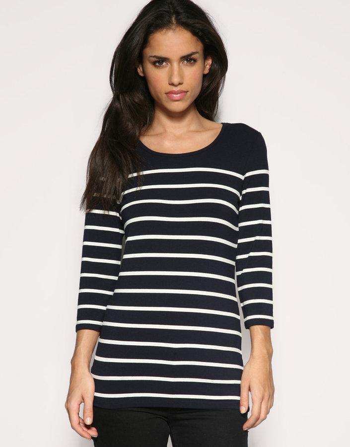 Oasis Breton Stripe Long Sleeve Top