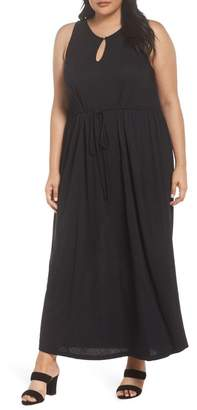 Sejour Tie Waist Maxi Dress (Plus Size)