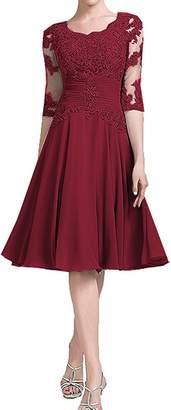 Annadress Mother Of The Bride Dress Short Chiffon Prom Dresses 2017