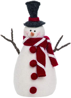 Transpac Foam White Christmas Dressed Up Snowman