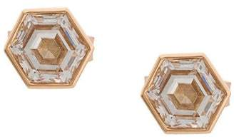 Eva Fehren hexagon earrings
