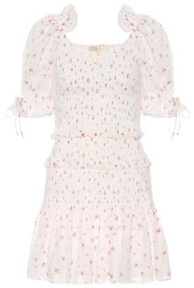 LoveShackFancy Tina floral-printed cotton minidress