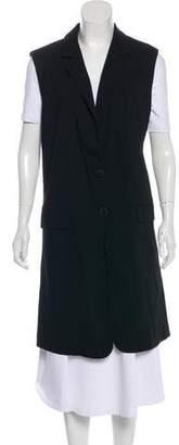 Marissa Webb Wool-Blend Knee-Length Vest