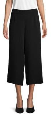 Max Studio Classic Wide-Leg Cropped Pants