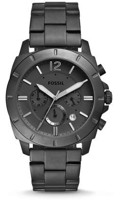 Fossil Privateer Sport Chronograph Black Stainless Steel Watch
