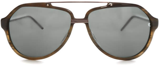 Raf Simons Marble Aviator Sunglasses