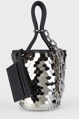 Alexander Wang Roxy Sequinned Bucket Bag