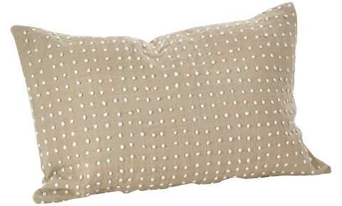 Saro Lifestyle French Knot Pillow