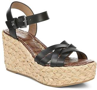 4fc8fa8714 Sam Edelman Women's Darline Espadrille Wedge Heel Platform Sandals