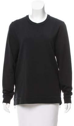 6397 Zip-Accented Long Sleeve Top