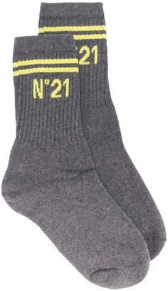 No.21 logo socks