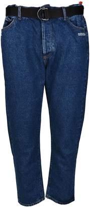 Off-White Off White Straight Leg Jeans