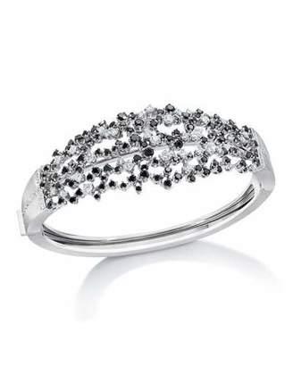 Ivanka Trump Tassel Moderne Black & White Diamond Bracelet $12,400 thestylecure.com