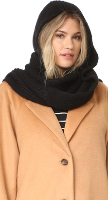 Kate Spade New York Mohair Blend Hood Scarf $78 thestylecure.com