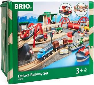 Brio Deluxe Train Railway Play Set