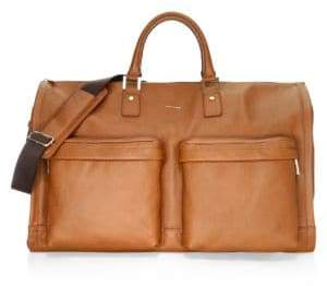 hook + ALBERT Leather Weekender Bag