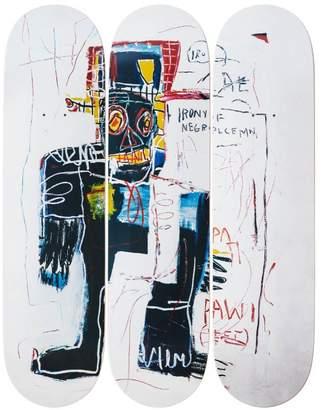 The Skateroom Jean-michel basquiat's irony of a negro policeman, 1981