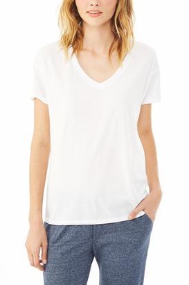Alternative Apparel Perfect V-Neck T-Shirt $48 thestylecure.com