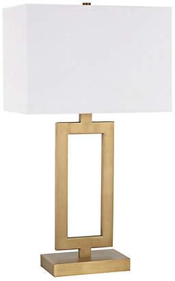 One Kings Lane Sera Table Lamp - Antiqued Brass