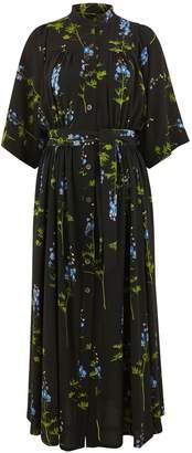 Dries Van Noten Long printed dress