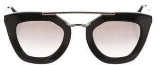 Prada Gradient Square Sunglasses