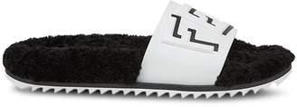 Fendi logo fussbet slides