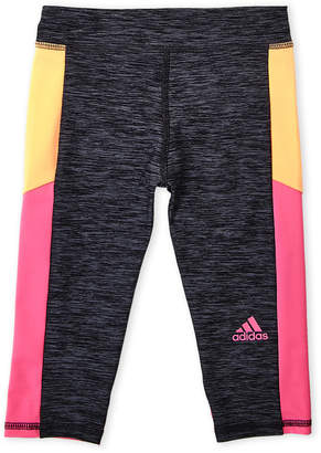 adidas Girls 4-6x) Color Block Leggings
