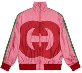 Gucci Interlocking G technical jersey jacket