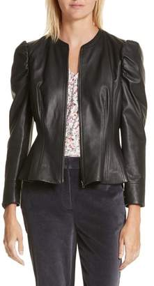 Women's Rebecca Taylor Victorian Leather Jacket