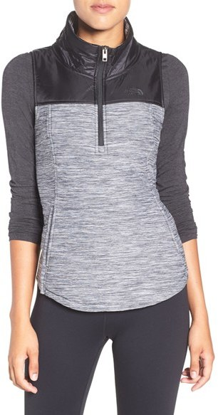 The North FaceWomen's The North Face 'Pseudio' Half-Zip Quilted Vest