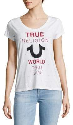 True Religion Graphic Slip-On Tee