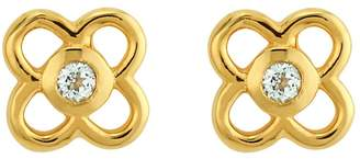 Asha Petite Paloma Stud Earrings
