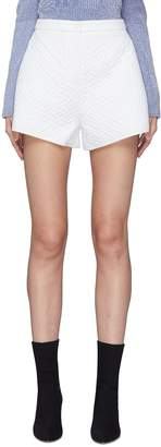 Fengyi Tan Geometric quilted shorts
