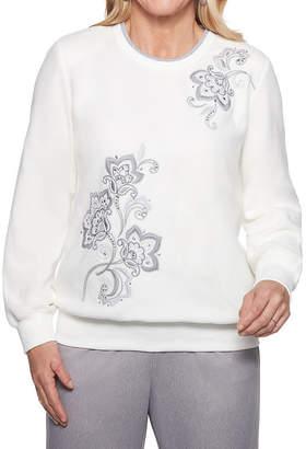 Alfred Dunner Stocking Stuffers Long Sleeve Sweatshirt