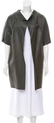 Marni Short Leather Coat