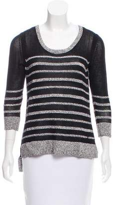 Rag & Bone Striped Scoop Neck Sweater