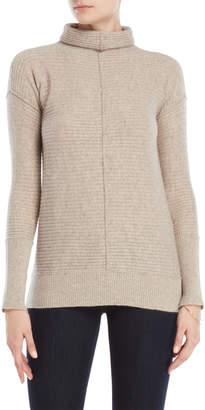 Forte Cashmere Horizontal Rib Cashmere Sweater