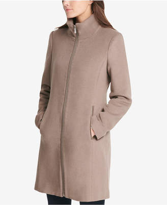 DKNY Stand-Collar Walker Coat, Created for Macy's