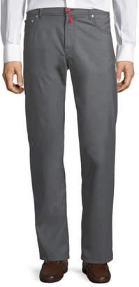 Kiton Five-Pocket Wool Pants