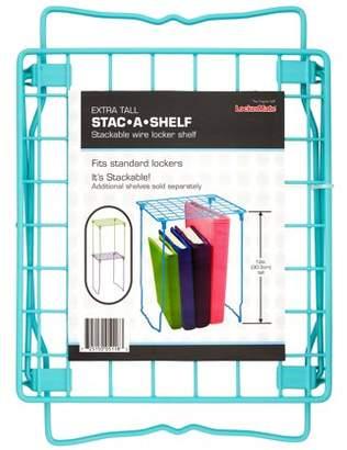 """Lockermate LockerMate 12"""" Stac-A-Shelf Wire Locker Shelf (Mint)"""