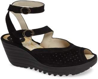 Fly London Yaxi Wedge Sandal