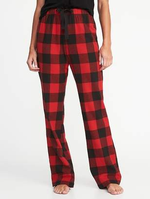Old Navy Patterned Flannel Sleep Pants for Women