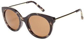 Semi Cat-Eye Sunglasses for Women $12 thestylecure.com
