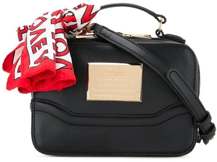 Love MoschinoLove Moschino camera crossbody bag