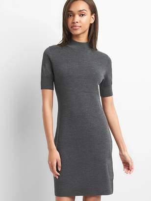 Gap Merino wool short sleeve sweater dress