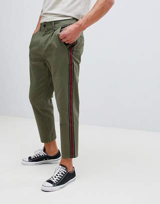 Jack and Jones Tapered Chino With Side Stripe