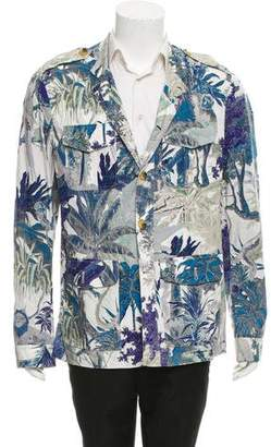 Etro Abstract Print Woven Jacket